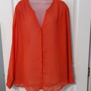 Old Navy Button Down Blouse XXL
